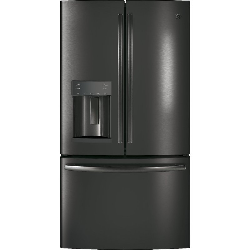 Ge French Door Refrigerator 36 Inch Black Stainless Steel Rc