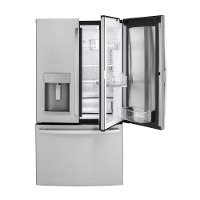 GFD28GSLSS GE French Door Refrigerator - 36 Inch  Stainless Steel