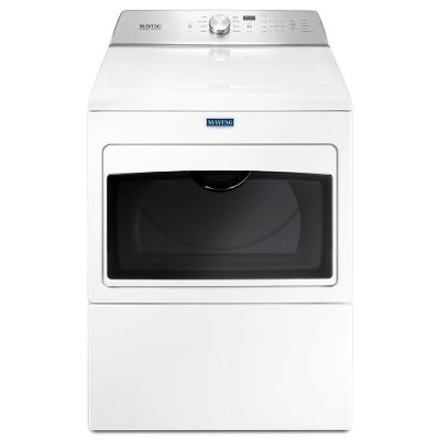 MGDB765FW Maytag Gas Dryer IntelliDry Sensor - 7.4 cu. ft. White