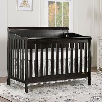 Charcoal 5 in 1 Convertible Crib - Ashton
