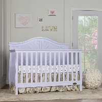 Lavender Ice 5 in 1 Convertible Crib - Kaylin