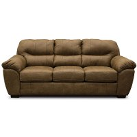 Casual Contemporary Silt Brown Sofa Bed - Grant