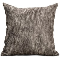 22 Inch Gray Feather Blend Throw Pillow - Holy Cow