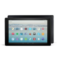 B01J6RPGKG,FIRE-10 Amazon Fire HD 10 Tablet with Alexa Hands-Free - 32GB - Black