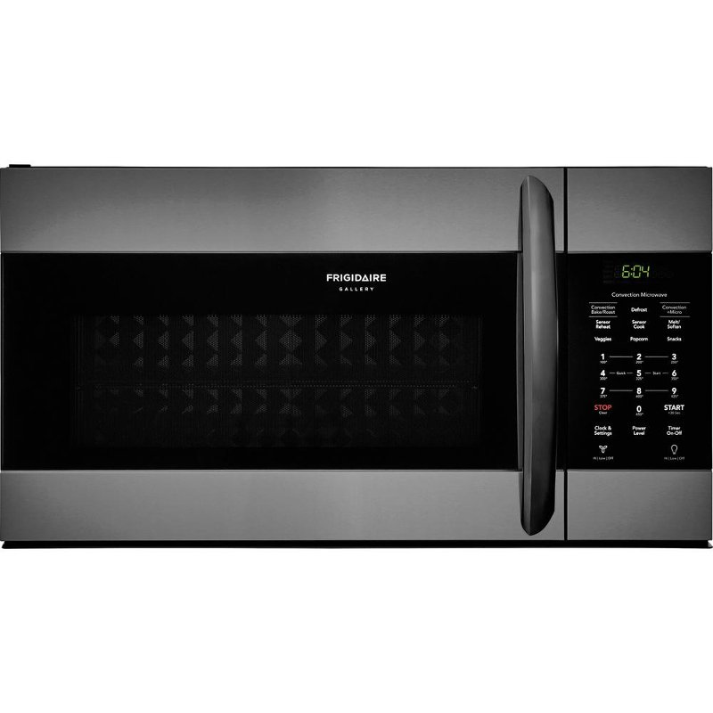Fgmv155ctd Frigidaire Gallery Over The Range Microwave 1 5 Cu Ft Black Stainless Steel