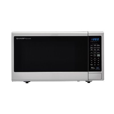 Smc1443cm Sharp 1 4 Cu Ft Microwave Stainless Steel