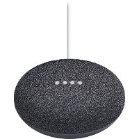 H0A-GOOGLE-HM-MINI,CHRCL Google Home Mini - Charcoal