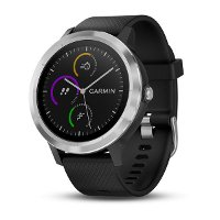 010-01769-01 Garmin vívoactive® 3 GPS Smartwatch - Black with Stainless