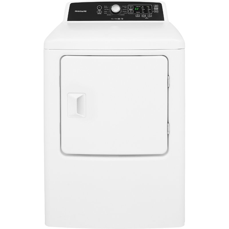 Frigidaire Electric Dryer - 6.7 Cu. Ft. White