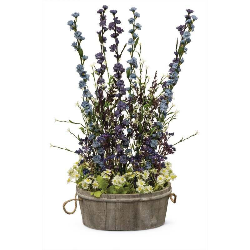 26 inch purple and blue wild flowers rcwilley image1~800