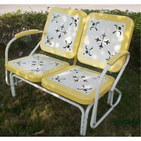 71150 Yellow Glider - Retro Metal