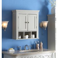 90620 Rancho Vanilla 2 Door Wall Cabinet