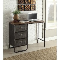 140251 Industrial Desk with 3-Drawers - Locker