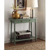 570379 Cottage Green Entry Table - Simplicity