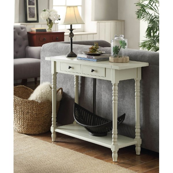... 570479 Buttermilk White Entry Table   Simplicity