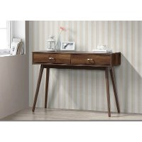 151000 Midcentury Walnut Brown Desk