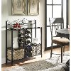 603115 Storage Towel/Wine Rack with 2 Baskets - Windsor