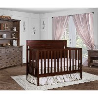 Espresso 5-in-1 Convertible Crib - Cape Cod