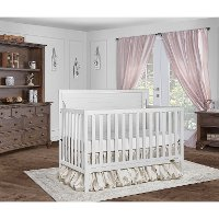 White 5-in-1 Convertible Crib - Cape Cod