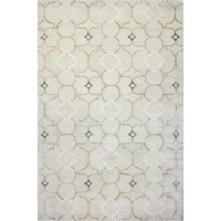 R129-IV-4X6-HG308 4 x 6 Small Ivory Area Rug - Greenwich