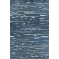 8 x 10 Large Azure Blue Rug - Greenwich