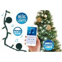 Bright Tunes Lights with Bluetooth Speakers