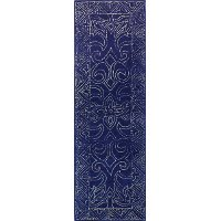 3 x 8 Runner Navy Blue Rug - Venezia