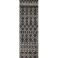 3 x 8 Runner Charcoal Gray Area Rug - Chelsea