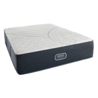 SET Beautyrest Brockville Firm Split California King Mattress - Silver Hybrid Elite