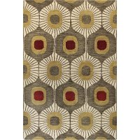 9 x 12 X-Large Mocha Brown Area Rug - Chelsea