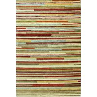 P119-MULTI5X7.6BD113 5 x 8 Medium Multi-Colored Area Rug - Chelsea
