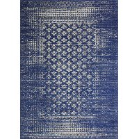 E110-DKBL-76X96-5362 8 x 10 Large Dark Blue Rug - Everek