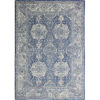 5 x 8 Medium Dark Blue Rug - Everek
