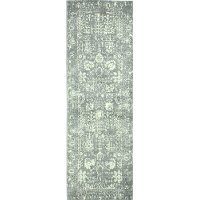 Gray Area 8 Foot Runner Rug - Everek