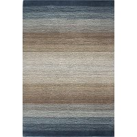 S176-LBL-9X12-ALM195 9 x 12 X-Large Light Blue Rug - Contempo