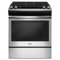 WEG515S0FS Whirlpool 5.0 cu. ft. Gas Range Frozen Bake Technology - Stainless Steel
