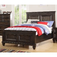 Classic Traditional Brown 4 Piece Twin Bedroom Set - Sevilla