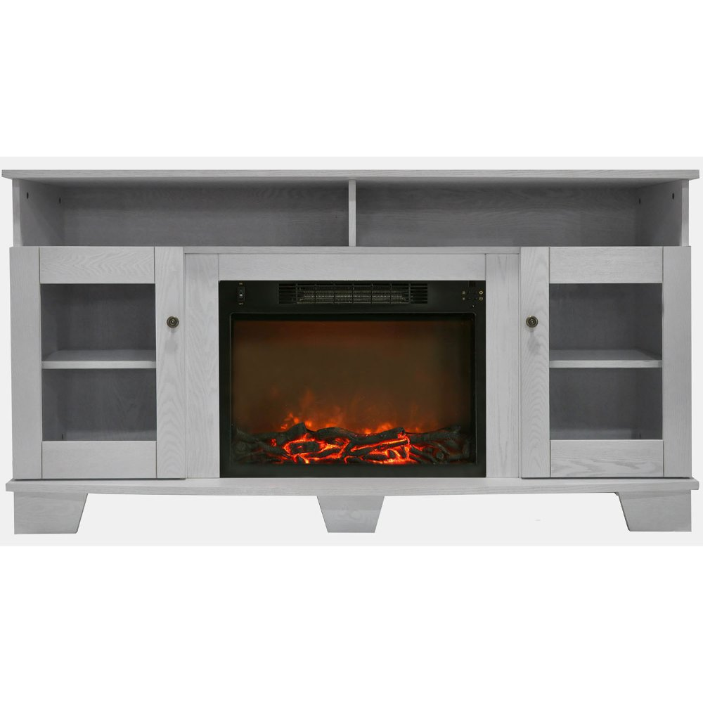 59 inch white tv stand and fireplace rc willey furniture store