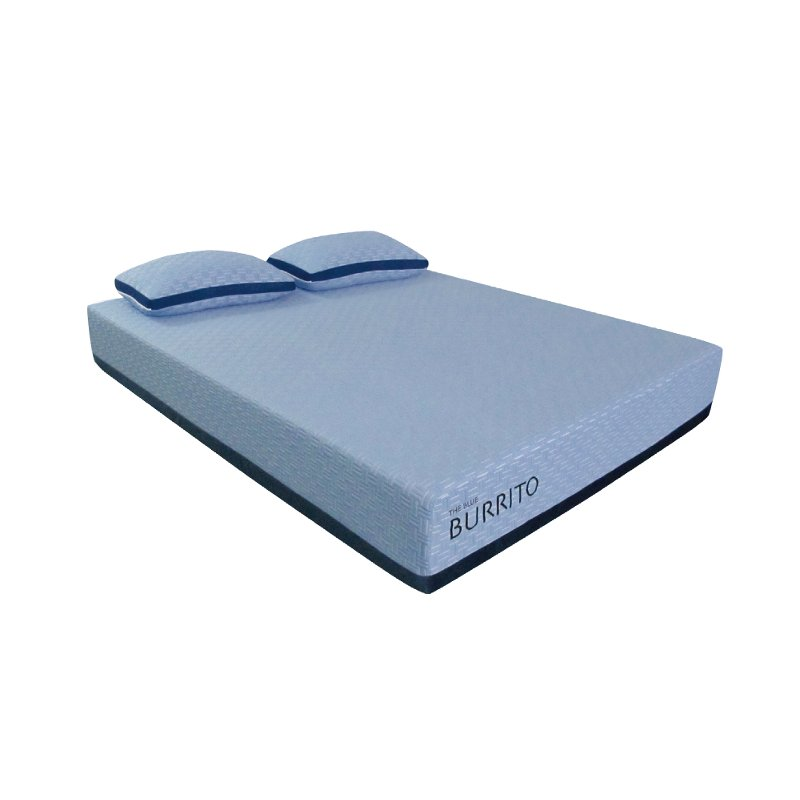 Blue Burrito Visco Gel Memory Foam Queen Mattress