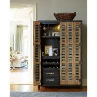 2-Tone Bar Cabinet - Libations