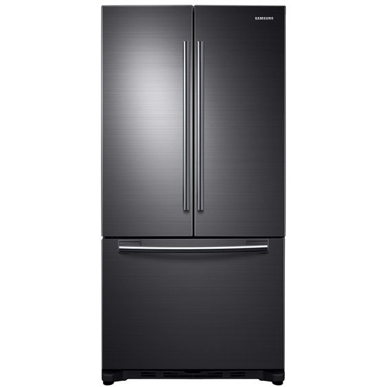 RF18HFENBSG Samsung 33 Inch French Door Refrigerator Counter Depth   Black  Stainless Steel And