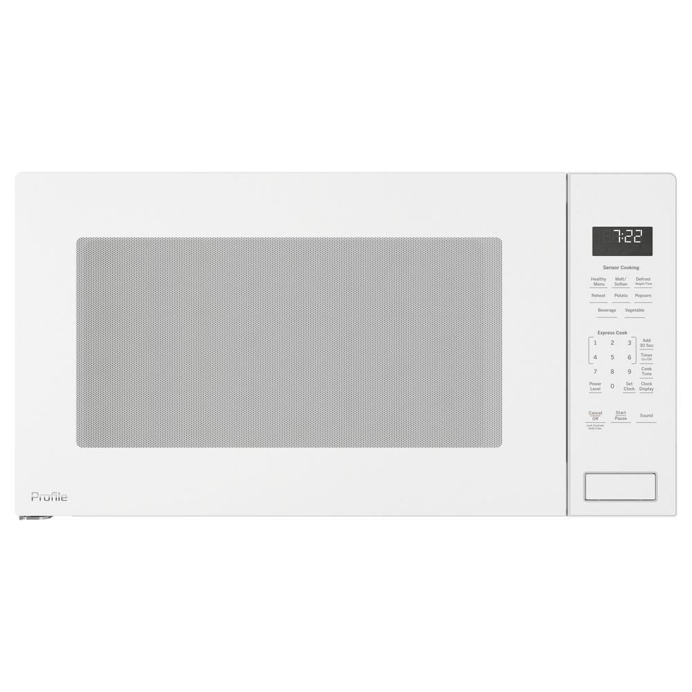 GE Profile Series Built-in Microwave and Trim Kit - White | RC ...
