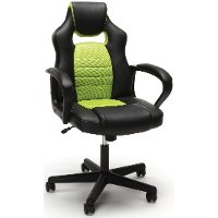 Neon Green and Black Racing Style Gaming Chair - Essentials