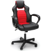 Red and Black Racing Style Gaming Chair - Essentials
