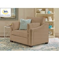 Serta Twin Convertible Chair - Savannah