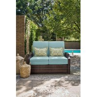 Serta Convertible Outdoor Lounger - Bahama