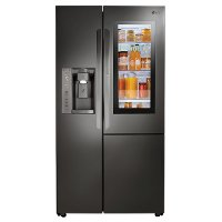 LSXC22396D LG Side-by-Side Refrigerator Counter Depth - 36 Inch Black Stainless Steel