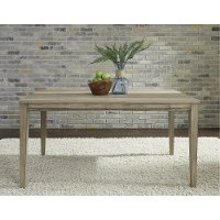 Sandstone Gray Dining Room Table - Sun Valley