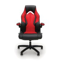 Amazing Red And Black Leather Gaming Chair Essentials Dailytribune Chair Design For Home Dailytribuneorg