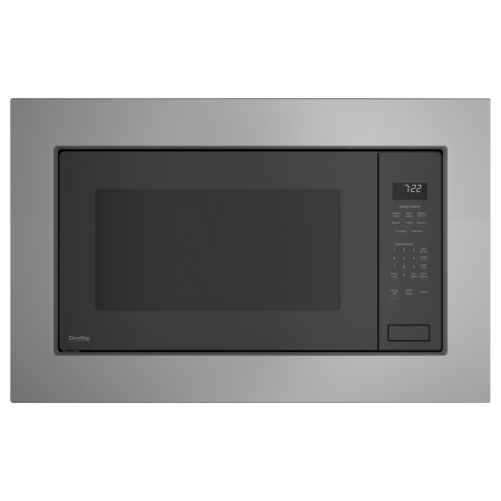 GE Profile Series Built In Microwave And Trim Kit   Stainless Steel | RC  Willey Furniture Store